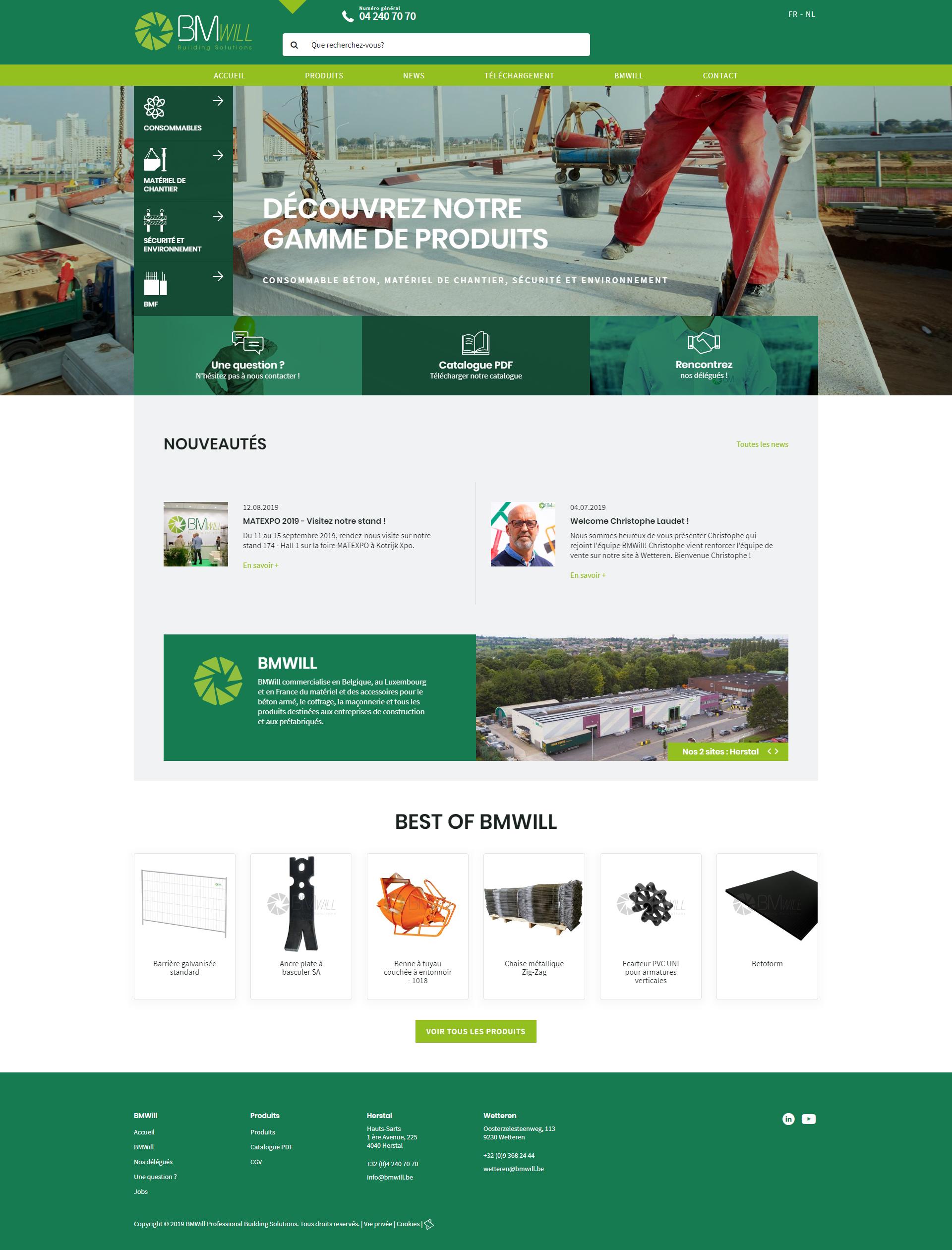 Site de BMWill