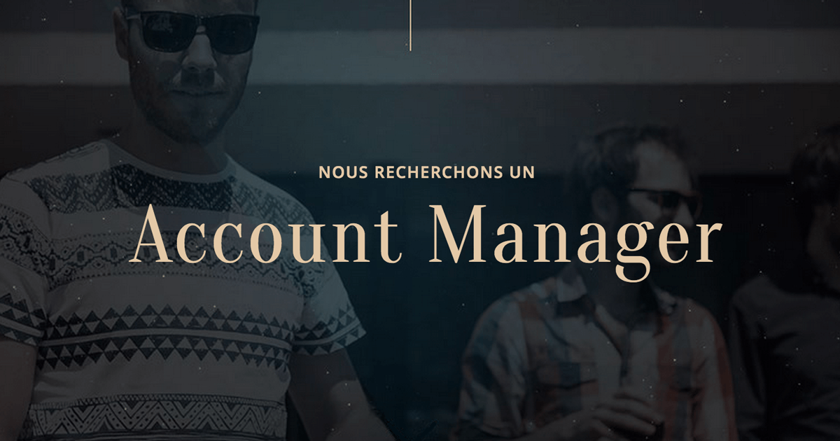 offre d'emploi account manager