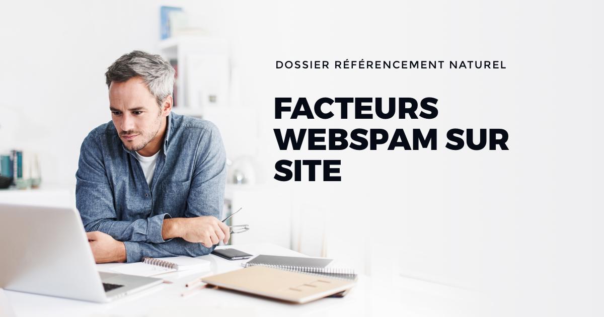 Facteurs Webspam sur site