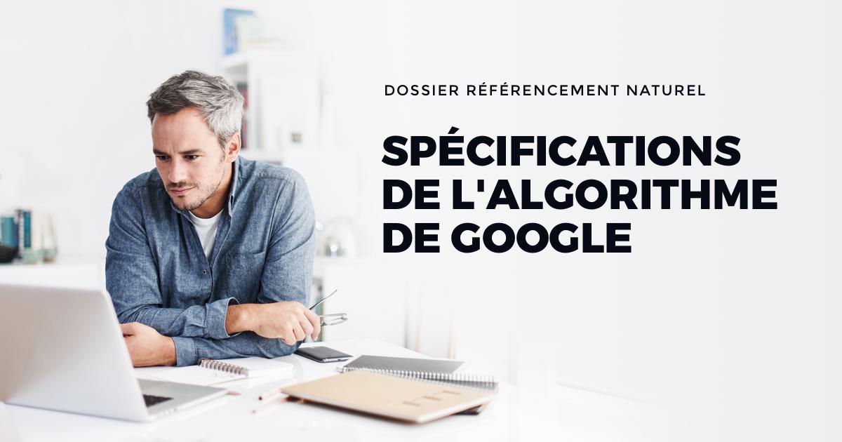 Règles d'algorithme Google spéciales