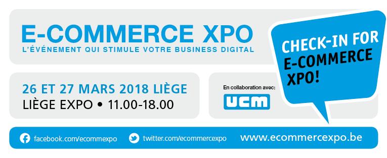 E-commerce XPO Liège 2018