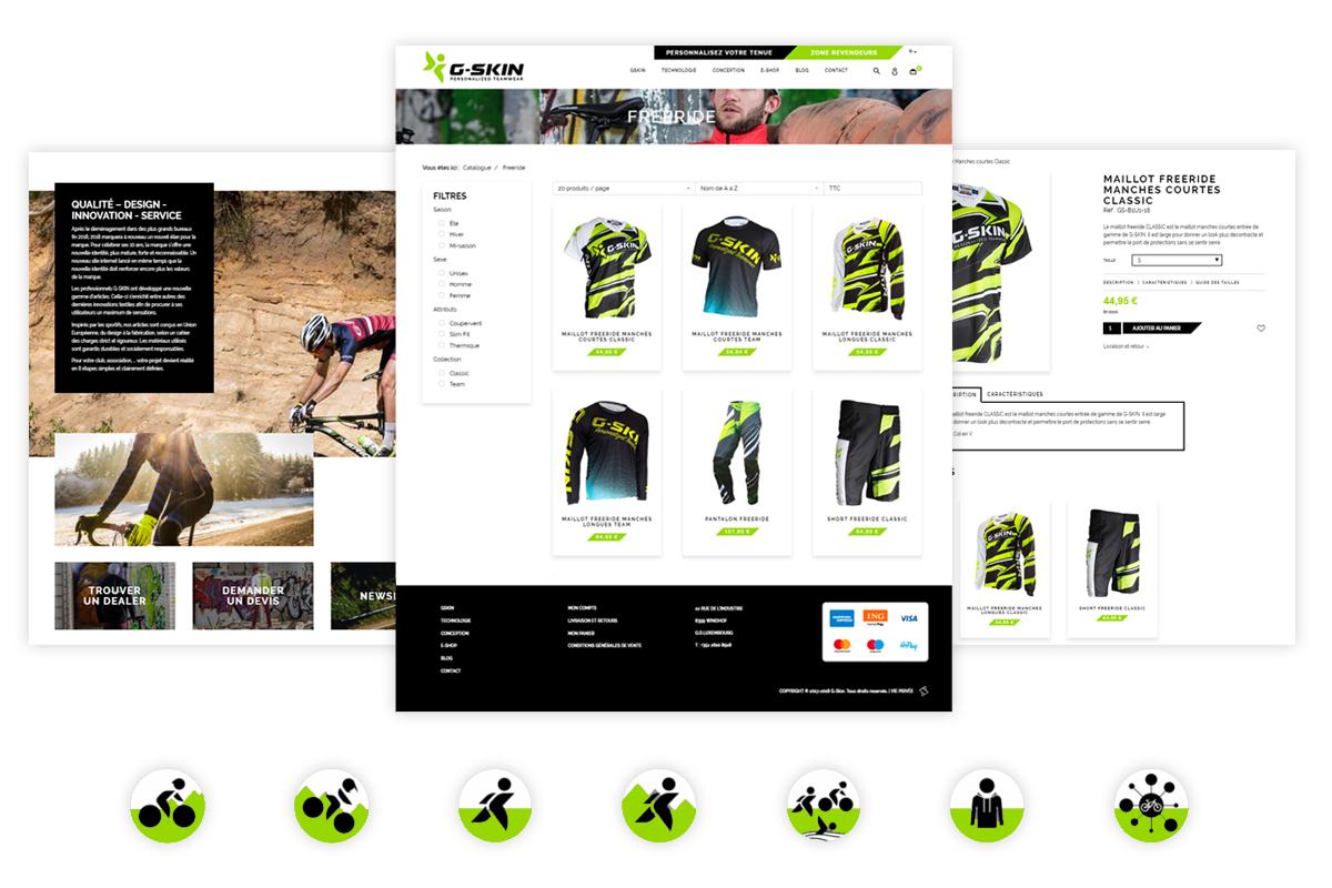 Création d'un site e-commerce au Luxembourg